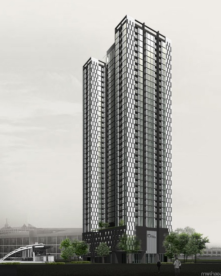 condo rent CBD Ratchada near MRT